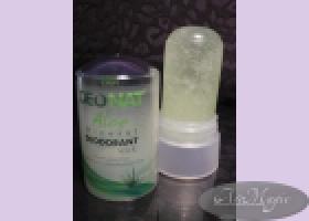 Кристалл ДеоНат 60 гр С СОКОМ АЛОЭ и глицерином/1 шт/ стик зеленый